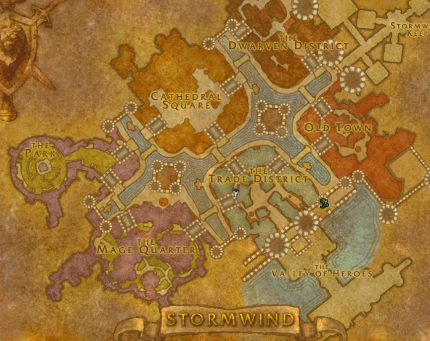 in stormwind how to get to kalimdor